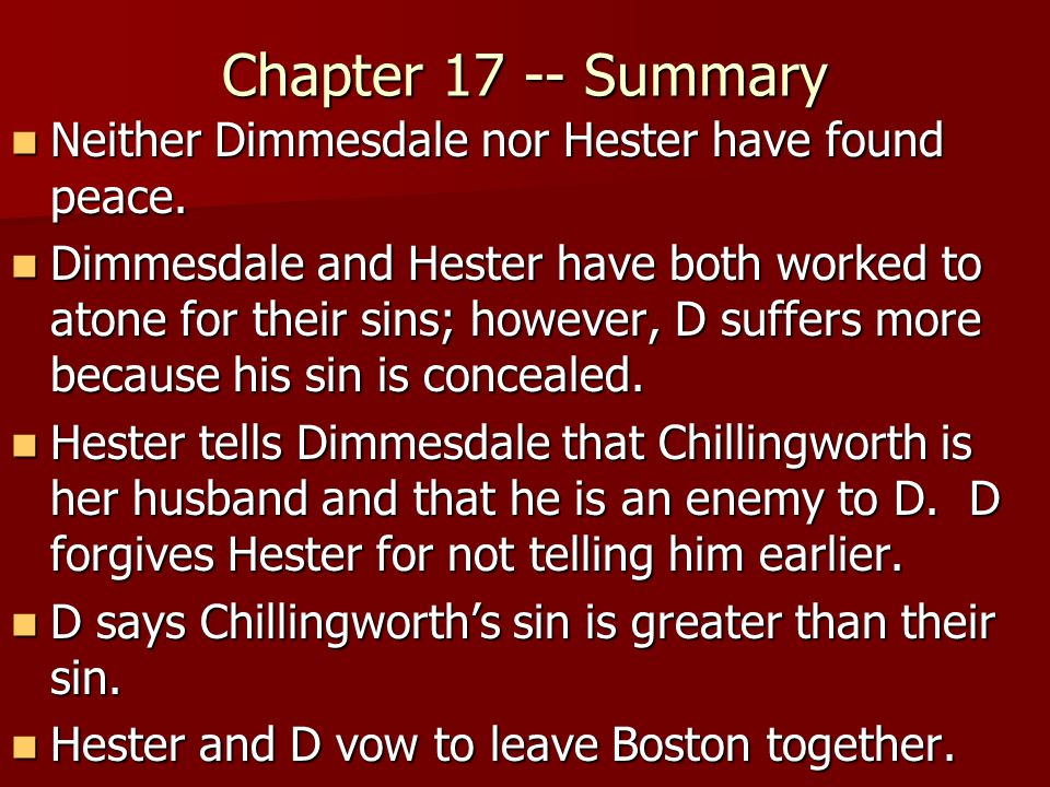 reverend arthur dimmesdale the greatest sinner in the scarlet letter by nathaniel hawthorne The narrative of the reverend arthur dimmesdale is quite in keeping with the and other english sources of nathaniel hawthorne's 'the scarlet letter.