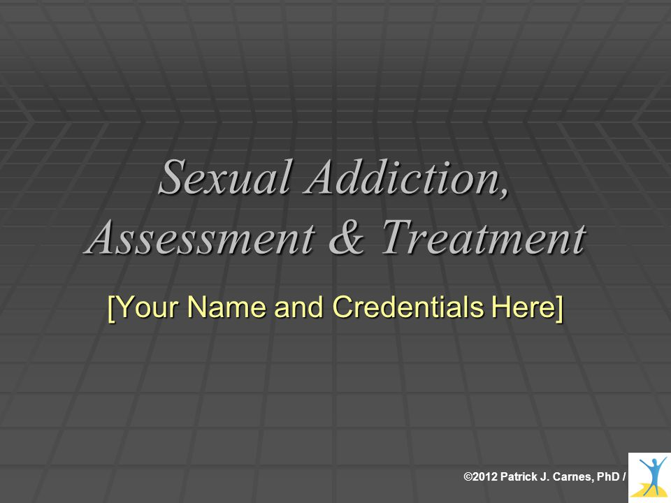 Sexual addiction recovery rates