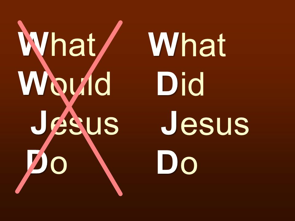 how to know what jesus would do
