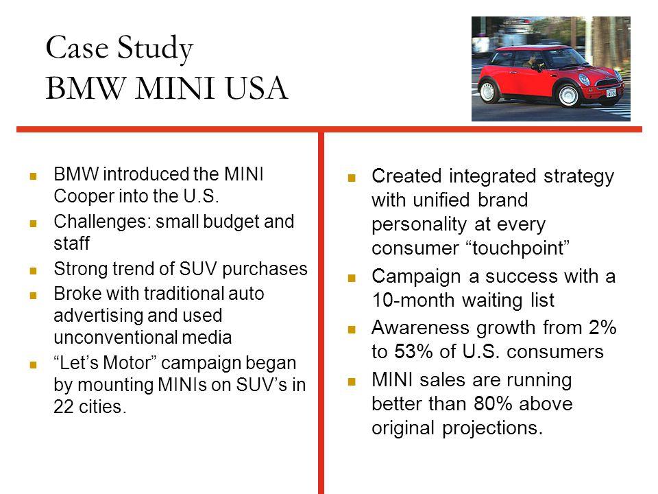 mini cooper marketing communication strategy
