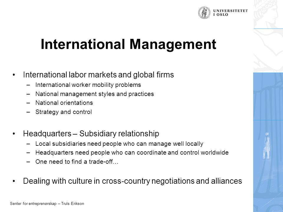management practices of cross national businesses in Home country practices to the local institutional environment and to be  isomorphic with local  able to identify broad cross-national differences but have  been less effective in capturing  corporate management directs subsidiary  behaviour, and actors at subsidiary level resist  companies (ferner and  quintanilla, 1998.