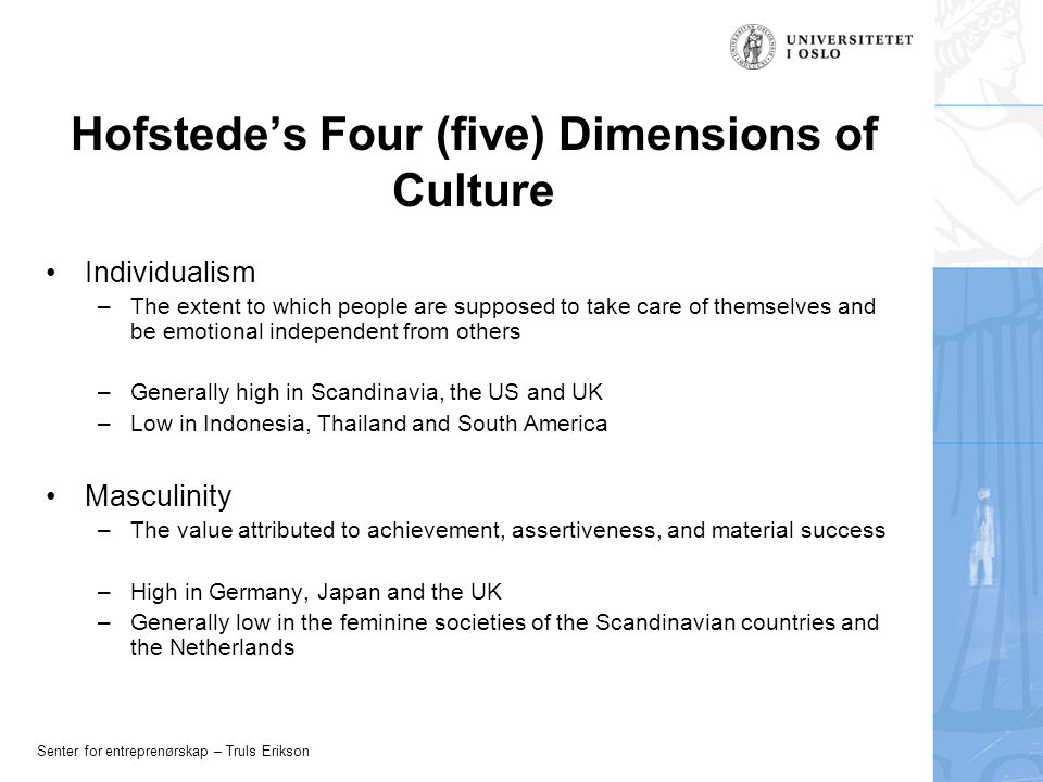 hofstede's masculinity index A detailed comparison of finland and india through hofstede & globe study sivasubramanian narashima boopathi, doctoral student, department of management.