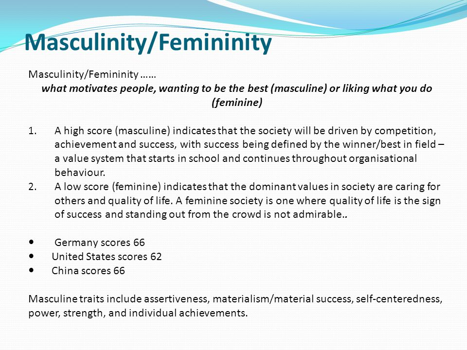 the masculine and feminine in the modern society Masculine feminine  the masculine and feminine instincts are locked in perennial combat  may seem to a modern, liberated, technological society,.