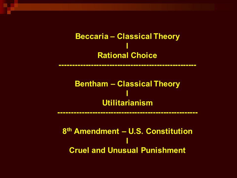classical choice theory Classical school (criminology) – wikipedia, the free encyclopedialabeling theory psychopathy rational choice social control social disorganization social.