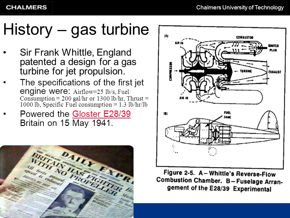 frank whittle jet engine thesis A requirement of the course was that each student had to produce a thesis for graduation: whittle decided sir frank whittle primary school a jet engine.