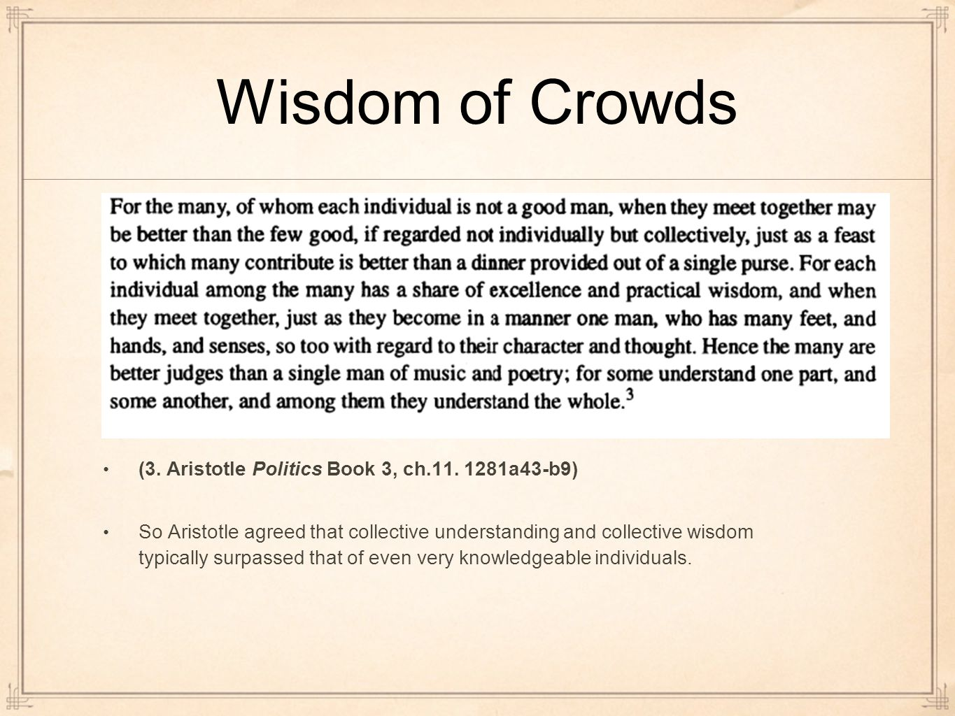 aristotle politics book 3 A discussion of some of the central ideas of aristotle's politics from books 3 and 4.