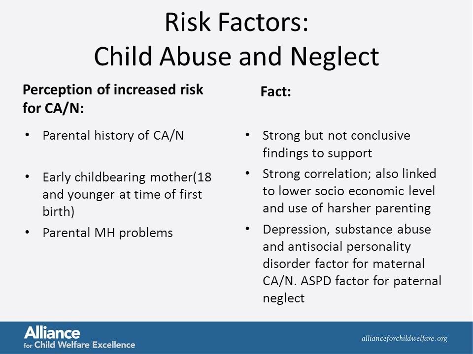 Dynamics of Physical Abuse, Sexual Abuse, and Neglect ...