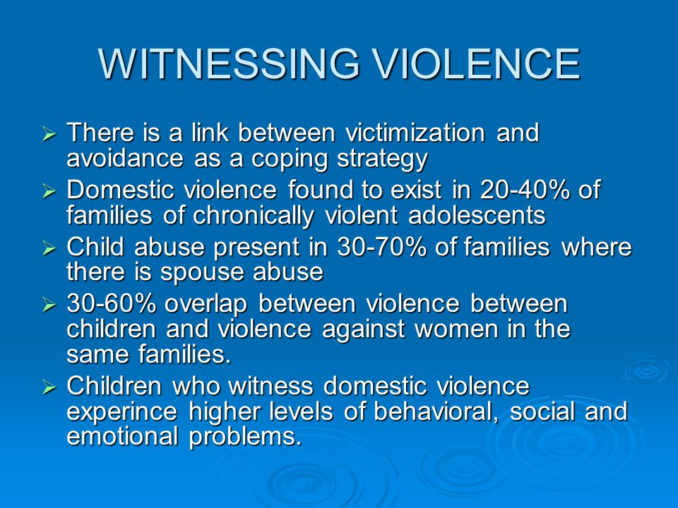 the connection between child abuse and adult behavior Does child abuse cause crime link between child maltreatment and crime is resulted in a gap in our understanding of the risk factors for criminal behavior.