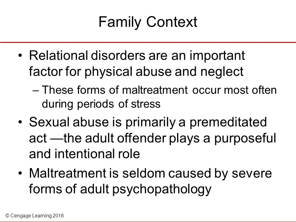 relationship of childhood abuse and household dysfunction