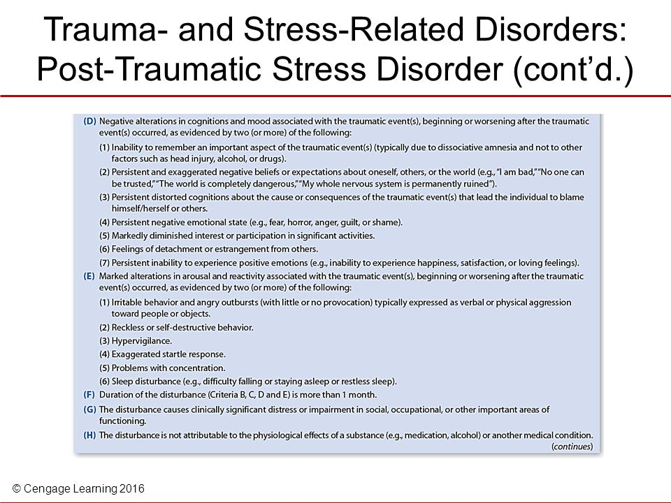 the effects of posttraumatic stress disorder essay Bailey 4 origins and causes of ptsd post-traumatic stress disorder (ptsd) is a diagnosis in the diagnostic and statistical manual of mental disorders 4th edition (dsm-iv.
