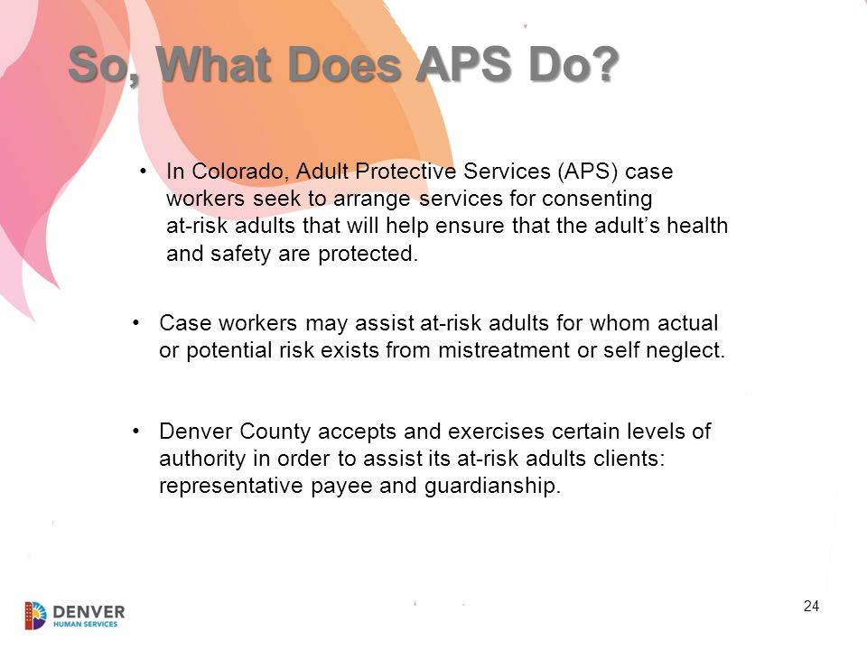 Older adult protective services act this