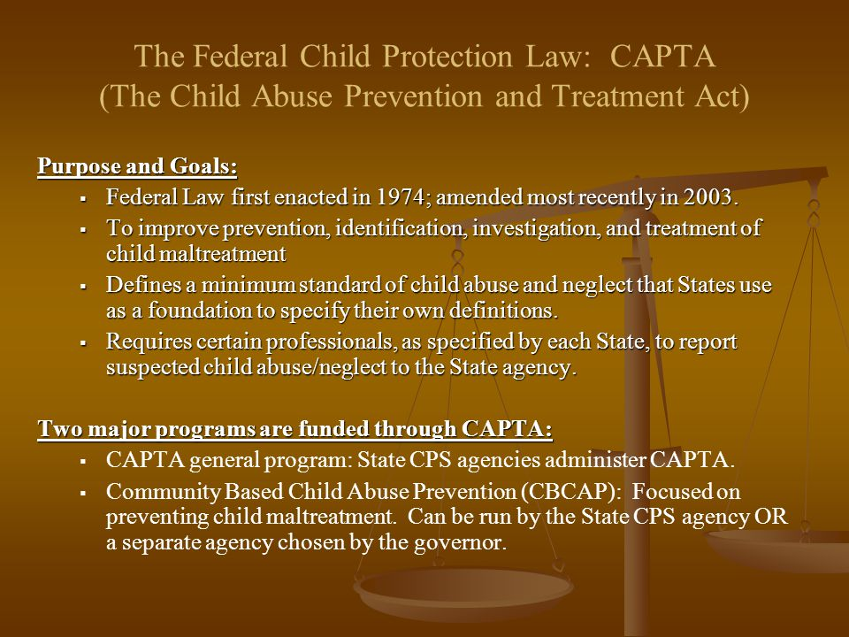 protection from child abuse and neglect in united states What is the appropriate balance between the due process rights of parents not to have child abuse or neglect case records preserved by child protection agencies in cases that are very old or in which a report of abuse or neglect was not substantiated and the authority of states to maintain appropriate central registries of child abuse and.