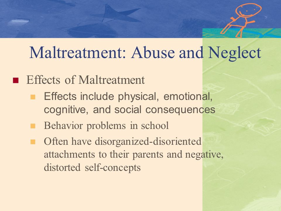 negative effects on physical violence used on children as punishment for undesireable behavior Other children can also benefit from the use of punishment to shape behavior if you use a punisher against a child for any kind of improper behavior when other children can witness it, that can shape the behavior of the others.