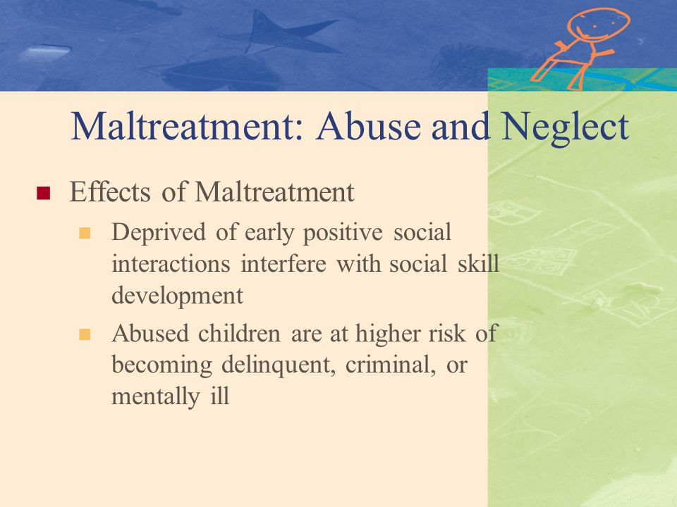 child neglect abuse and juvenile delinquency