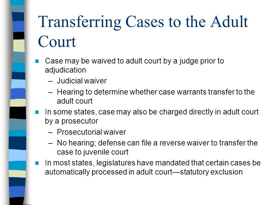 an overview of juvenile court (to learn about juvenile courts and delinquency in general, see nolo's article juvenile courts: an overview) how police deal with juveniles there are a number of ways that a minor might come into contact with law enforcement over the alleged violation of a criminal statute.