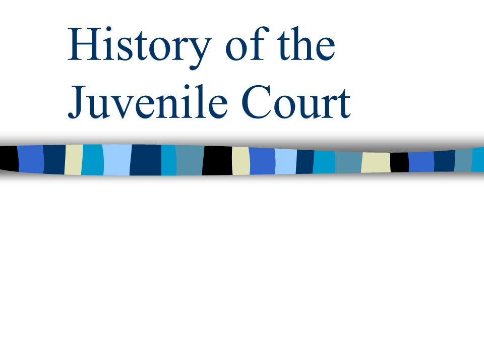 an overview of juvenile court Provided an overview of the initiative the initiative provides states with technical assistance to identify and  new judges with juvenile court jurisdiction.