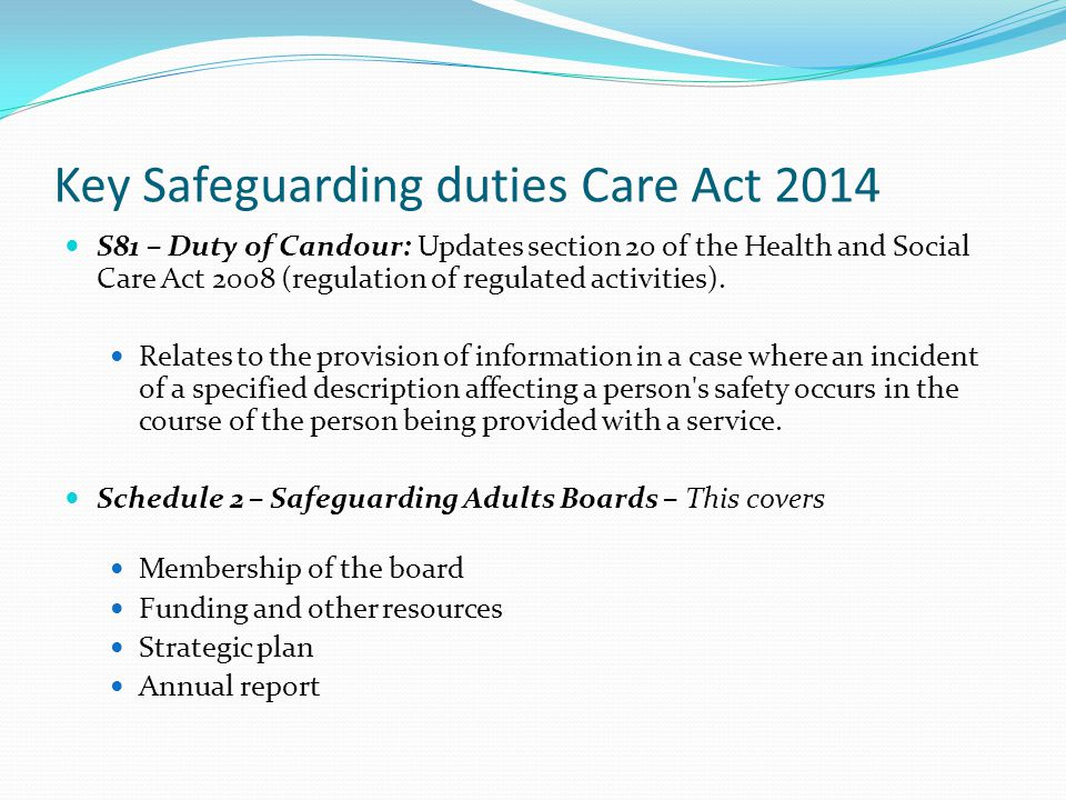 care act 2014 safeguarding adults ppt video online download