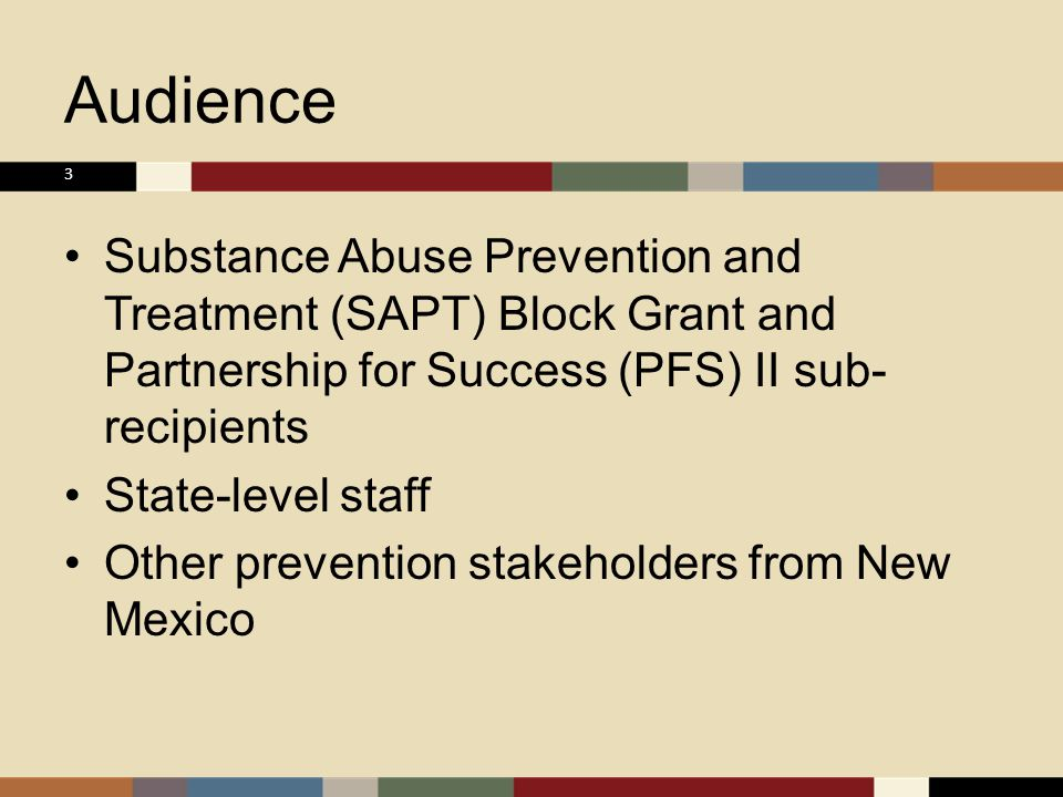 ps375 substance abuse prevention and treatment The substance abuse prevention and treatment block grant (sabg) program  provides funds to all 50 states, the district of columbia, puerto rico, the us.