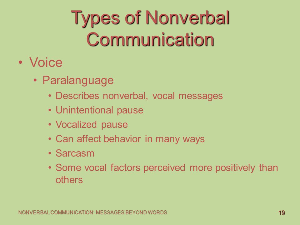 categories of nonverbal communication Communication is an essential part of human life we communicate with other people to make conversation and convey our thoughts the way we communicate today is the result of a long journey through the evolution of mankind.