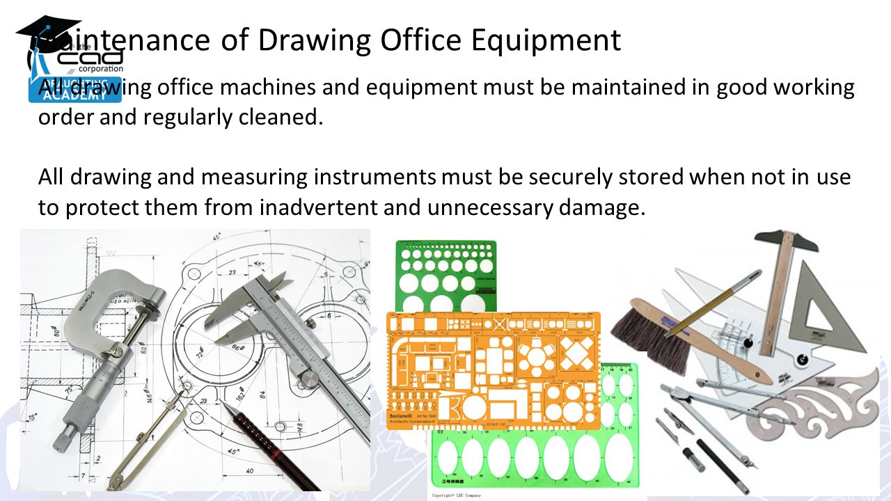 Maintenance Of Drawing Office Equipment