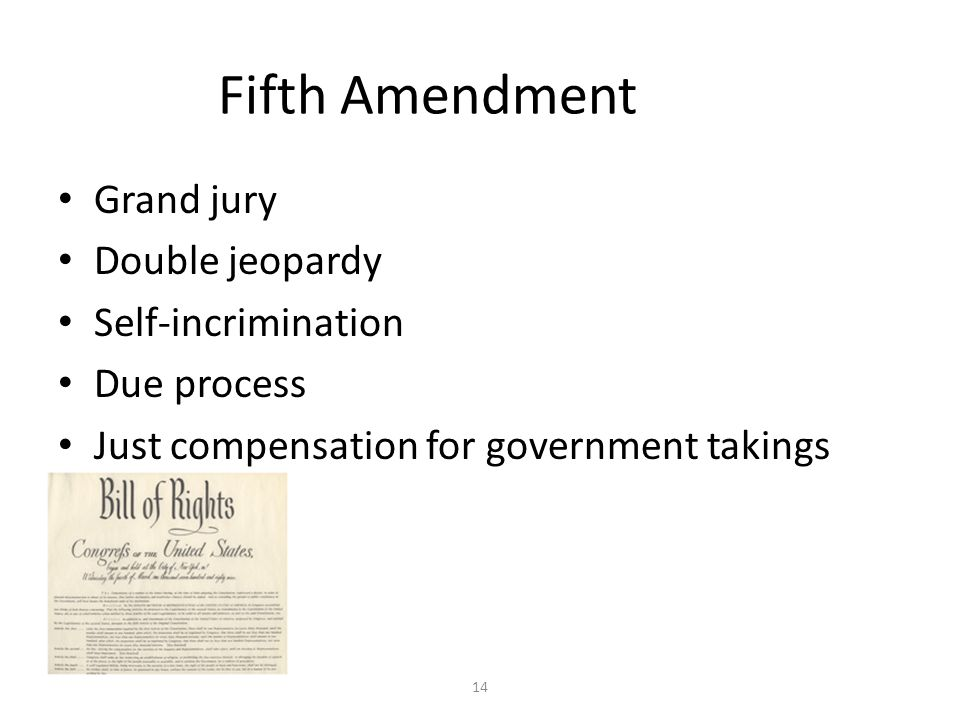 Double Jeopardy 5th Amendment Criminal Justice Proce...