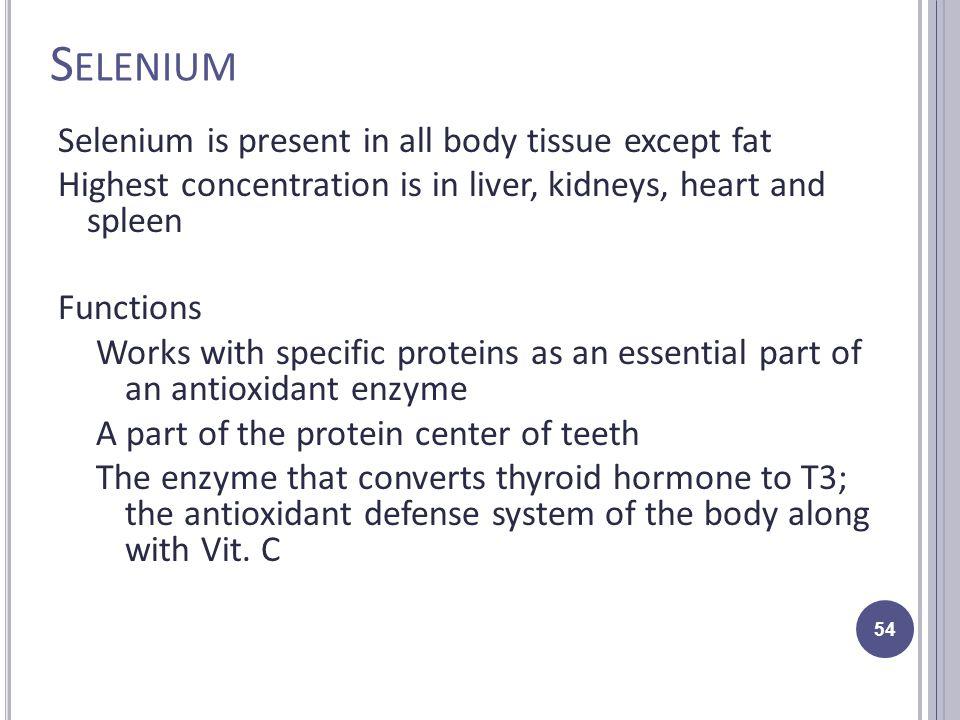 Keshan Disease Selenium Deficiency and the
