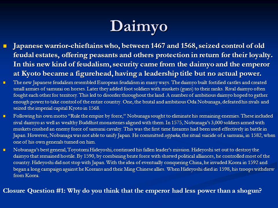 daimyo and shogun relationship poems