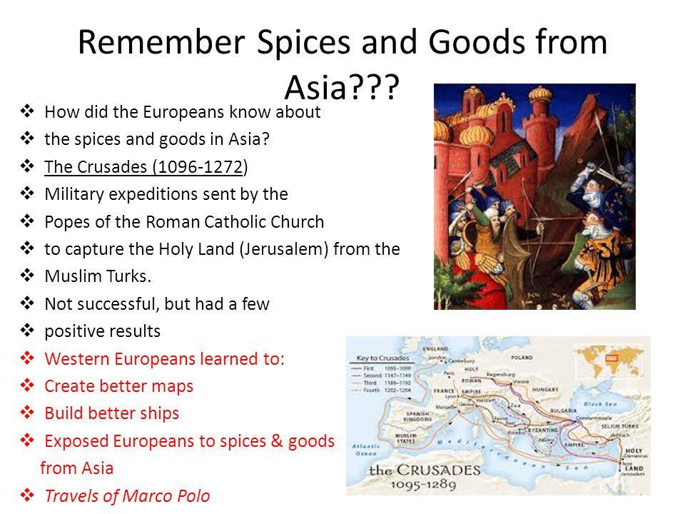 Remember Spices and Goods from Asia
