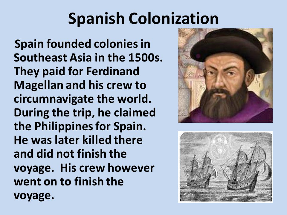 Spanish Colonization