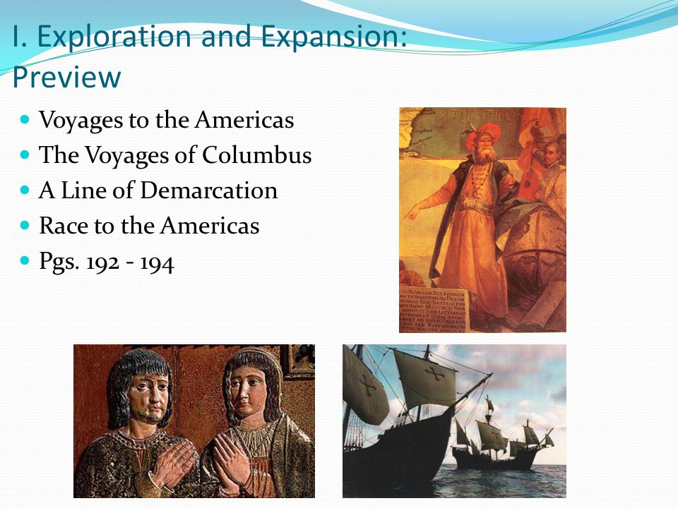 Ch 19 Age Of Exploration Slides: Ch. 6: The Age Of Exploration