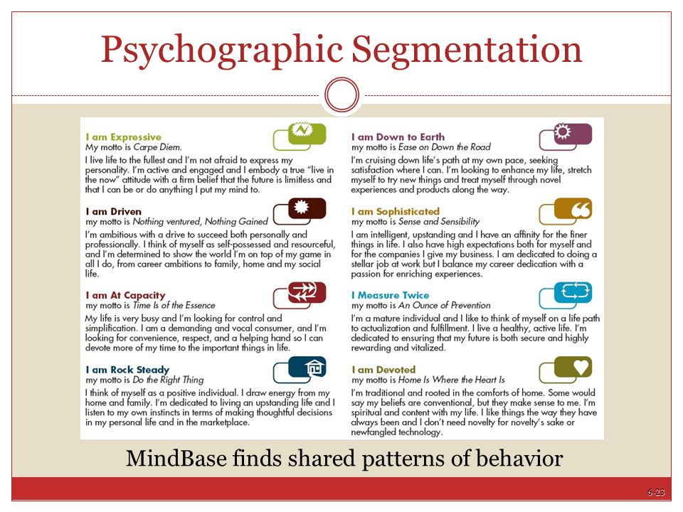 young professionals psychographics Steve yi discusses the four psychographic segments in eye on asia.