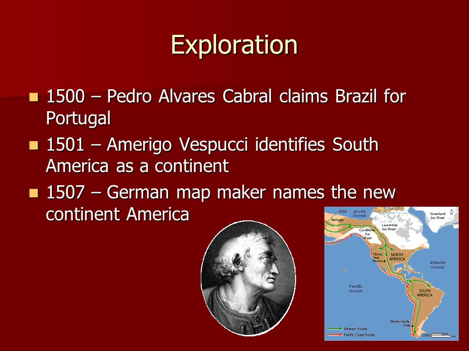 Exploration 1500 – Pedro Alvares Cabral claims Brazil for Portugal