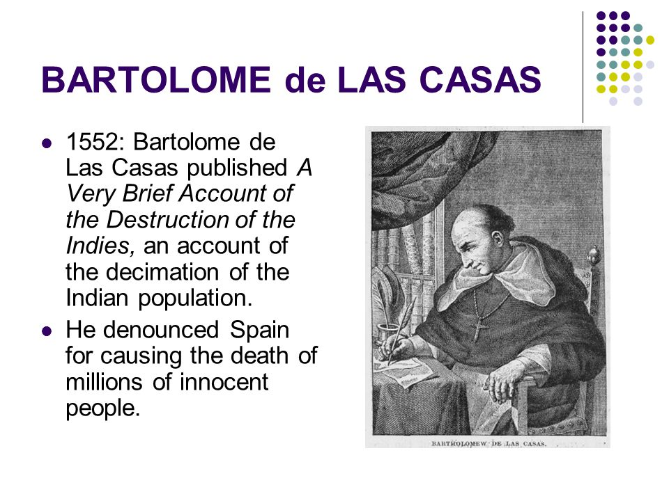 bartolomè de las casas of the Discover bartolome de las casas famous and rare quotes share bartolome de las casas quotations about atheism what we committed in the indies stands out.