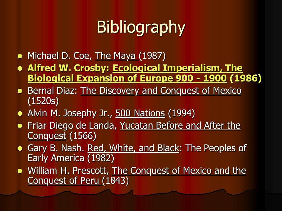 ecological imperialism the biological expansion of europe essay Ecological imperialism : the biological expansion of europe, 900-1900 by alfred w crosby and a great selection of similar used, new and collectible books available now at abebookscom.