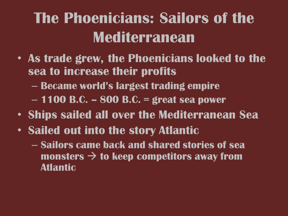 phoenician sea power gallery