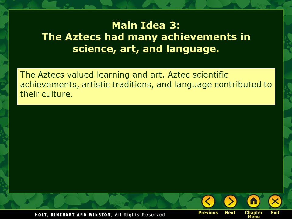 Chapter 15 – The Aztec and Inca Empires - ppt download