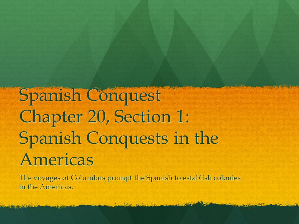 effects on spanish conquest of the americas essay Why did the spanish decide to begin colonizing the new ottoman conquest of effects: provided.