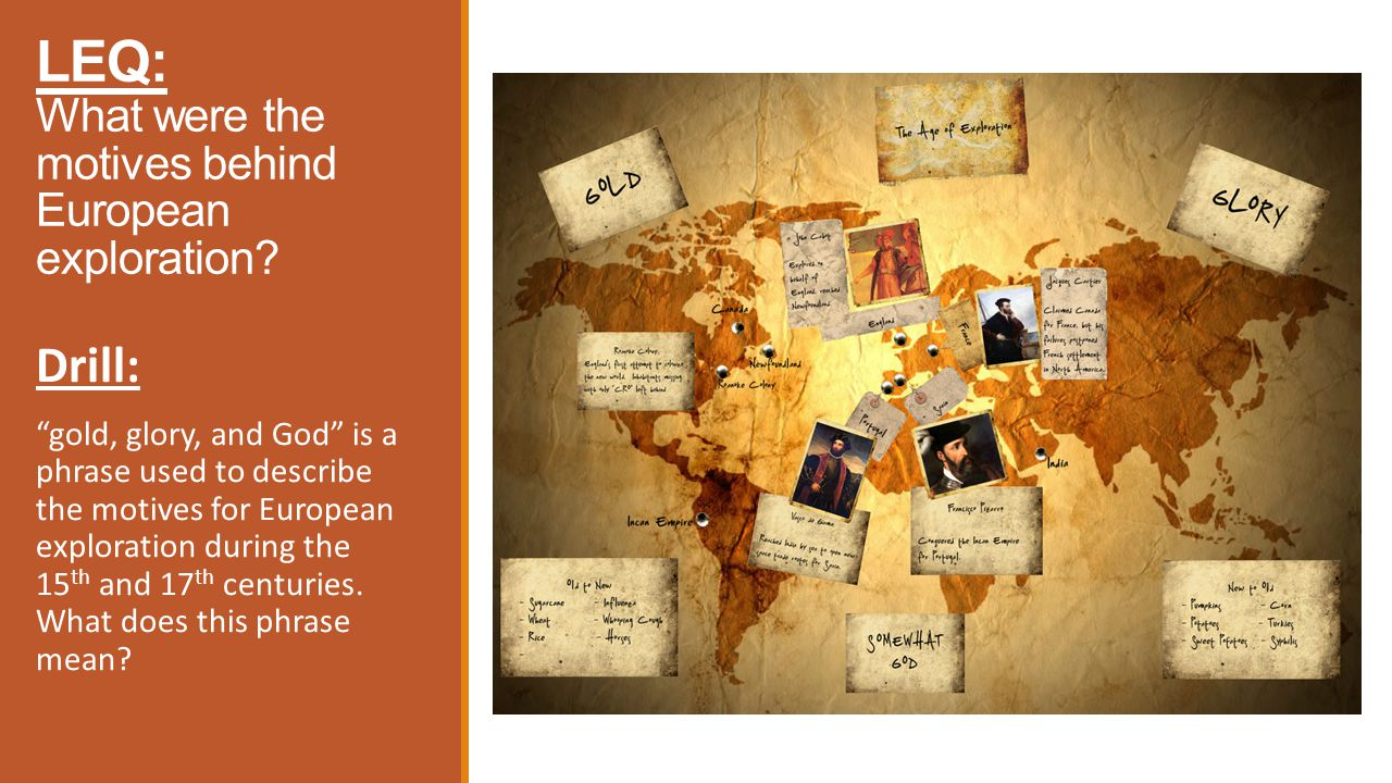 Ch 19 Age Of Exploration Slides: Unit 2: Chapter 4: The Age Of Exploration