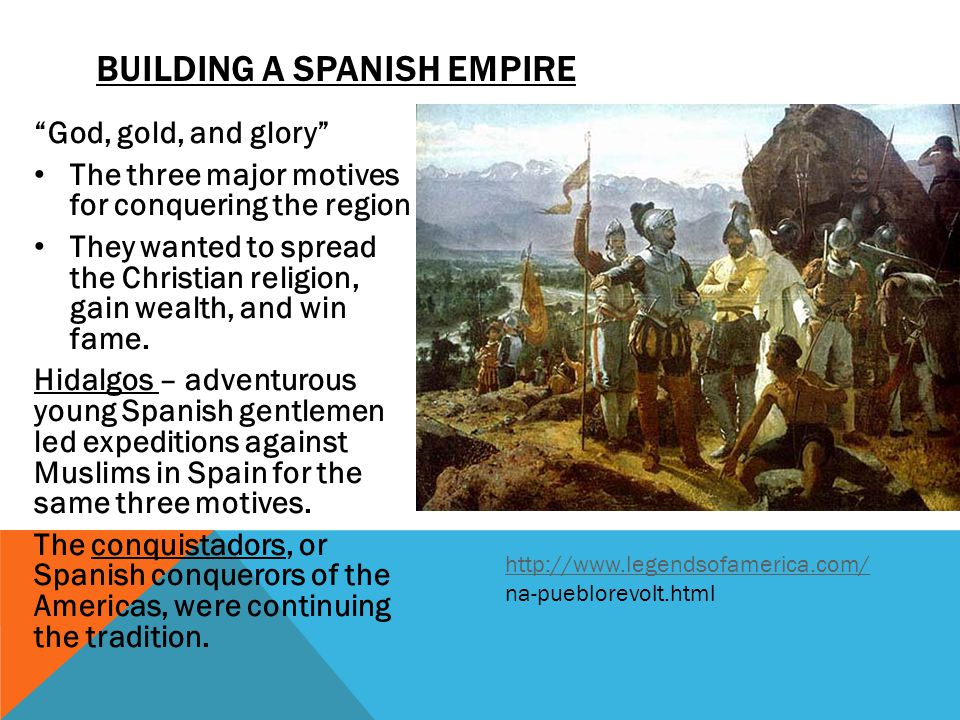 the spanish conquistadors the spread of The impact of european diseases on native americans overview contact between europeans and native americans led to a demographic disaster of unprecedented proportions many of the epidemic diseases that were well established in the old world were absent from the americas before the arrival of christopher columbus in 1492 the catastrophic epidemics that accompanied the european conquest of.