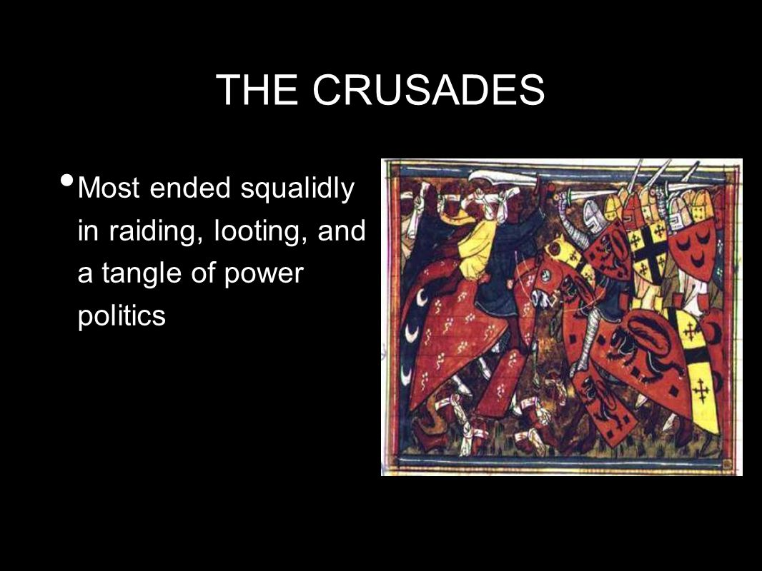 What Was the Result of the Crusades?