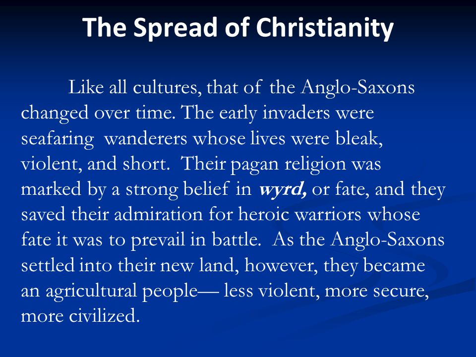 Anglo-Saxon beliefs
