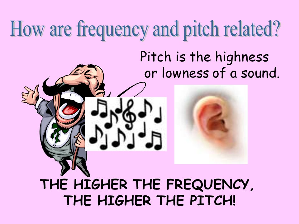 THE HIGHER THE FREQUENCY,