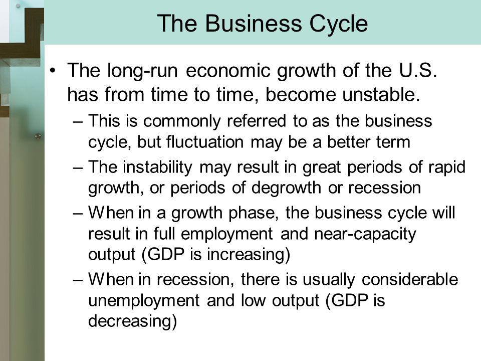unstable economic growth Unemployment will increase if the rate of economic growth is less than the increase in labor productivity as one can see clearly from this description alone, the structure of today's economy is designed so that if economic growth is halted, employment will decline, and this could result in social instability.