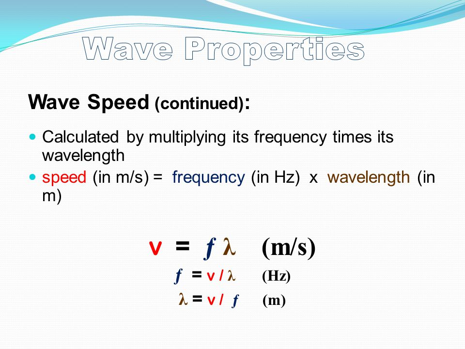 WAVES Definition: A traveling disturbance that carries ...