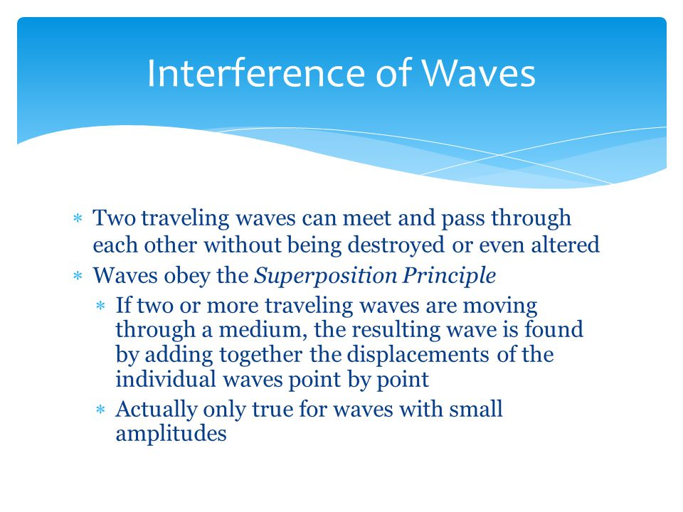 when two waves meet and overlap