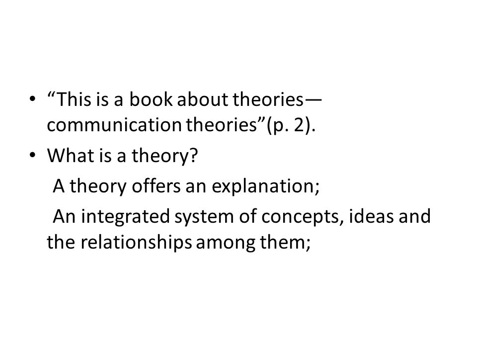 an analysis on the theories of communication Critically examine a range of theoretical approaches to learning and communication discuss how the learning and communication theories apply to your own teaching and promote inclusive practice theoretical approaches to learning and communication are abundant, with a number of these having their.