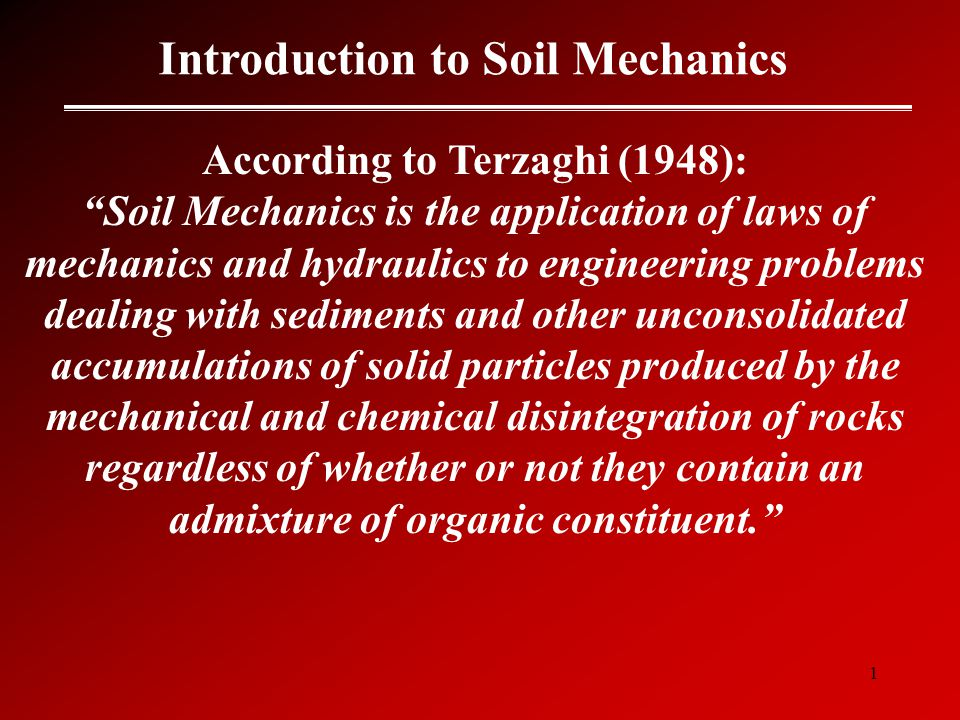 Introduction to soil mechanics ppt video online download for Introduction of soil