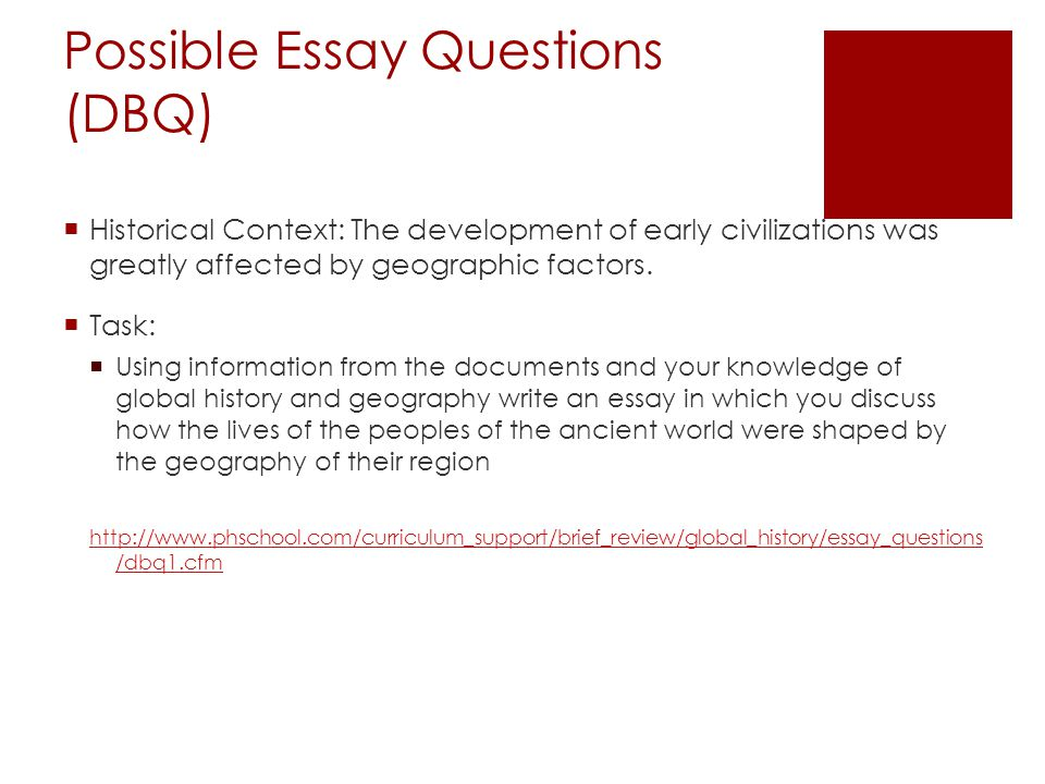 Possible Essay Questions Antigone