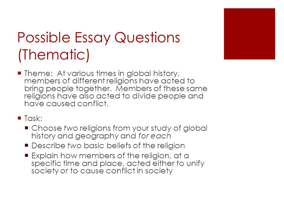 "an analysis of different themes in multiple essays by various authors Essay exams test you on ""the big picture""- relationships between  written in the  course looking at the course outline for major themes  review, think about,  and supplement answers composed by other people  if the exam is mixed  format, do the multiple choice, true/ false or matching section first."