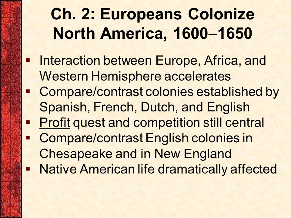 spanish and english colonization compare and contrast span Essay about spain a very brief look at  compare and contrast spanish and british colonization efforts in north america prior to 1763  english motives for.